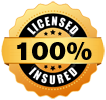 100% Licensed & Insured